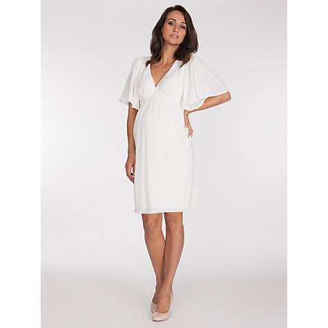 Buy Séraphine Christie Kaftan Maternity Dress, Ivory Online at johnlewis.com