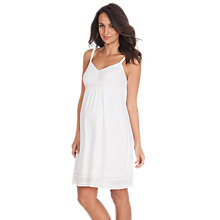 Buy Séraphine Jada Maternity Dress, White Online at johnlewis.com