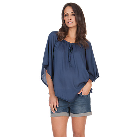 Buy Séraphine Savannah Maternity Top, Petrol Blue Online at johnlewis.com