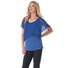 Buy Séraphine Meredith Maternity Top, Ocean Blue Online at johnlewis.com