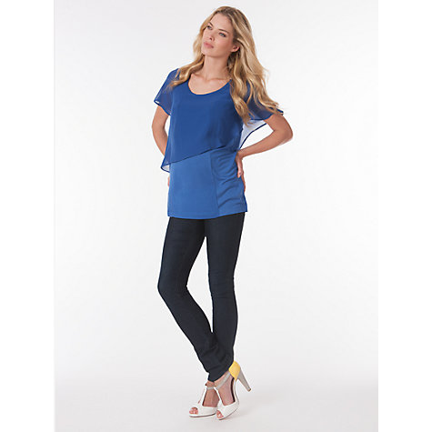 Buy Séraphine Meredith Top, Ocean Blue Online at johnlewis.com