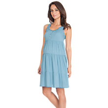 Buy Séraphine Victoria Dress, Azure Online at johnlewis.com