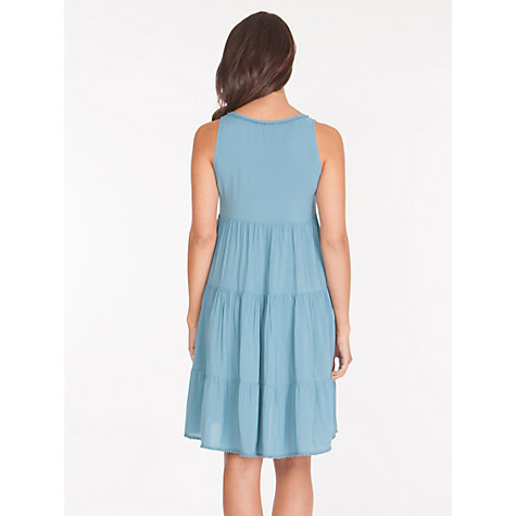 Buy Séraphine Victoria Maternity Dress, Azure Online at johnlewis.com