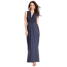 Buy Séraphine Jo Maxi Dress, Navy Online at johnlewis.com