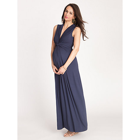 Buy Séraphine Jo Maternity Maxi Dress, Navy Online at johnlewis.com