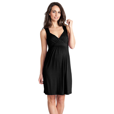 Buy Séraphine Justine Jersey Dress, Black Online at johnlewis.com