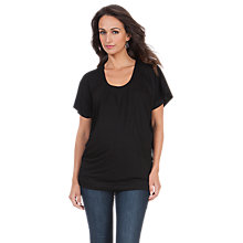 Buy Séraphine Willow Top, Black Online at johnlewis.com