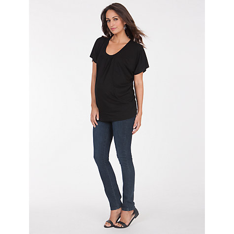 Buy Séraphine Willow Maternity Top, Black Online at johnlewis.com