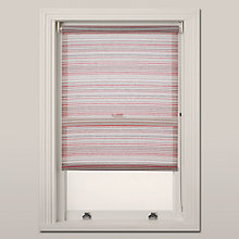 Buy John Lewis Manhattan Stripe Daylight Roller Blind, Red Online at johnlewis.com