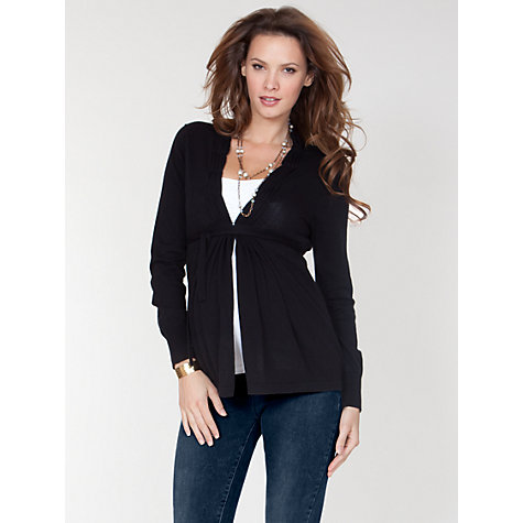 Buy Séraphine Davina Cardigan, Black Online at johnlewis.com