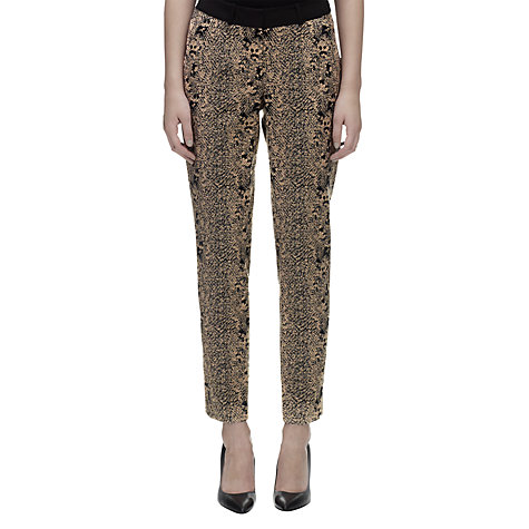 Buy Whistles Python Jacquard Trousers, Multi Online at johnlewis.com