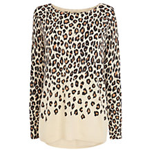 Buy Oasis Animal Jumper, Off White Online at johnlewis.com