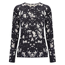 Buy Whistles Fire Burst Printed Jumper, Multi Online at johnlewis.com