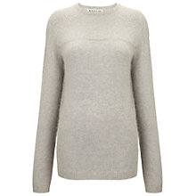 Buy Whistles Remi Sparkle Jumper, Silver Online at johnlewis.com