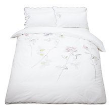 Buy Designers Guild Rosa Bedding, Graphite Online at johnlewis.com