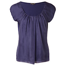 Buy Jigsaw Chiffon Overlay Top Online at johnlewis.com