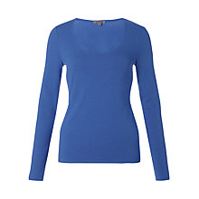 Buy Jigsaw Stretch Jersey Top Online at johnlewis.com