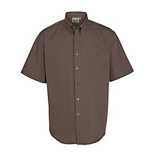 Buy Explorers Boys' Short Sleeve Shirt, Beige Online at johnlewis.com