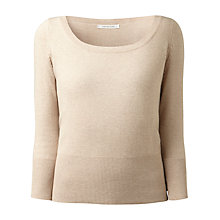 Buy Gérard Darel Boat Neck Jumper, Beige Online at johnlewis.com