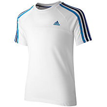 Buy Adidas Boys' Essential 3 Stripes T-Shirt Online at johnlewis.com