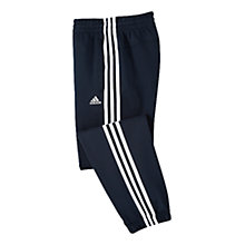 Buy Adidas Boy's Essential Training Trousers, Navy White Online at johnlewis.com