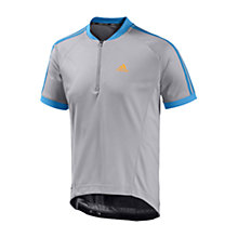 Buy Adidas Response Short Sleeve Tour Jersey, Grey Online at johnlewis.com