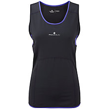 Buy Ronhill Aspiration Contour Tank, Black Online at johnlewis.com