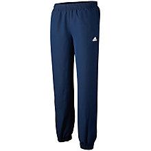 Buy Adidas Boy's Essentials Stanford Tracksuit Bottoms, Collegiate Navy Online at johnlewis.com