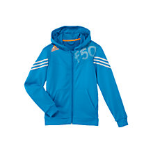 Buy Adidas Boys' F50 Full-Zip Hoodie Online at johnlewis.com