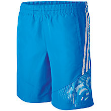 Buy Adidas F50 Boy's Shorts, Blue Online at johnlewis.com