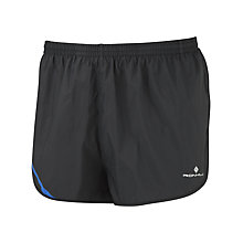 Buy Ronhill Advance Racer Shorts, Black/Blue Online at johnlewis.com
