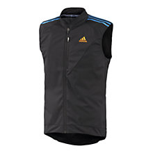 Buy Adidas Response Tour Gilet, Black Online at johnlewis.com