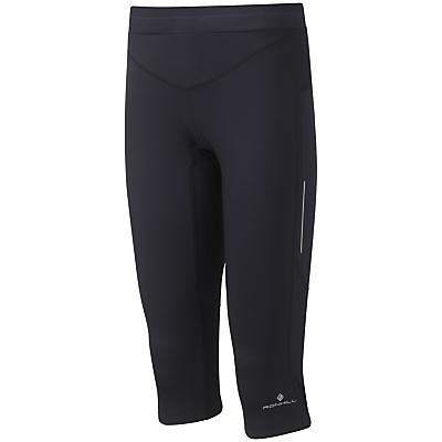 Ronhill Aspiration Contour Capri Pants, Black