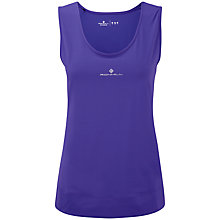 Buy Ronhill Aspiration Contour Tank Top, Purple Online at johnlewis.com