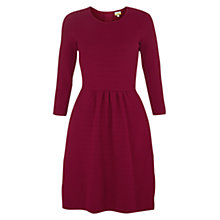 Buy NW3 by Hobbs Sadie Dress, Berry Online at johnlewis.com