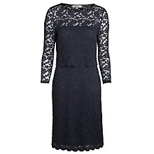 Buy Somerset by Alice Temperley Lace Pencil Dress, Grey Online at johnlewis.com