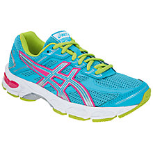 Buy Asics Gel Cumulus Trainers, Blue/Multi Online at johnlewis.com