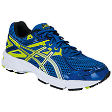 Buy Asics GT 1000 Trainers, Royal Blue/Lime/Black Online at johnlewis.com