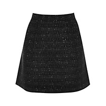 Buy Oasis Sparkle Boucle Skirt, Multi Black Online at johnlewis.com