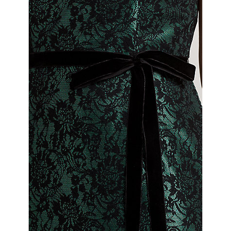 Buy Ariella Marlee Lace Shift Dress, Emerald Online at johnlewis.com