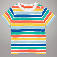 Buy John Lewis Stripe T-Shirt, Multi Online at johnlewis.com