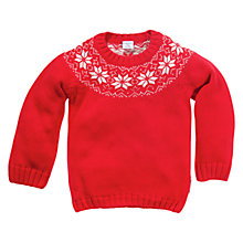 Buy Polarn O. Pyret Nordic Jumper, Poppy Online at johnlewis.com