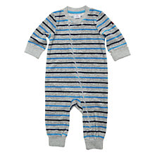 Buy Polarn O. Pyret Garland Sleepsuit, Grey Online at johnlewis.com