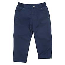 Buy Polarn O. Pyret Cedar Chinos, Indigo Online at johnlewis.com