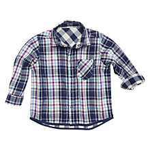Buy Polarn O. Pyret Epworth Shirt, Indigo Online at johnlewis.com