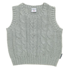 Buy Polarn O. Pyret Falmouth Knitted Tank Top, Grey Marl Online at johnlewis.com