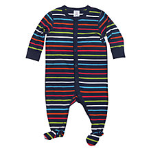 Buy Polarn O. Pyret Riverside Sleepsuit, Indigo/Multi Online at johnlewis.com
