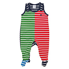 Buy Polarn O. Pyret Greensbord Romper, Indigo/Multi Online at johnlewis.com