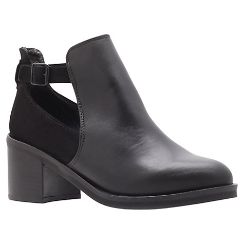 Buy KG by Kurt Geiger Split Ankle Boots, Black Online at johnlewis.com