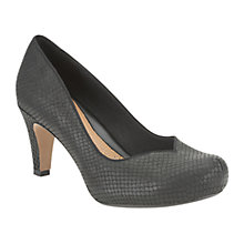 Buy Clarks Chorus Jazz Patent Mary Jane Court Shoes, Black Online at johnlewis.com
